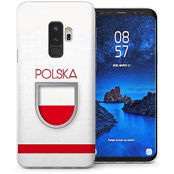 Samsung Galaxy S9 met Polen World Cup TPU Gel koffer