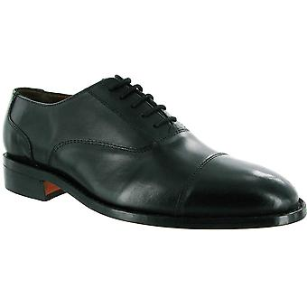 Amblers Mens James Lace Lined Leather Oxford Style Shoe Black