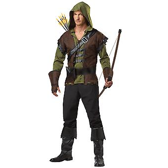Robin Hood Medieval Sherwood Archer Hero Thieves Warrior Men Costume