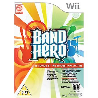 Band Hero - Jeu uniquement (Wii) - Factory Sealed