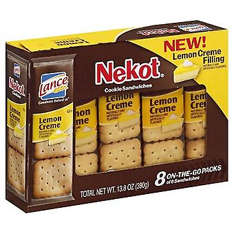 Lance Nekot Cookie Sandwiches citroen Creme