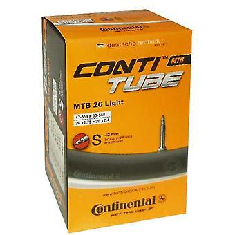 Tubo de bicicleta continental Conti tubo MTB 26 luz