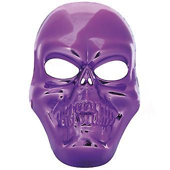 頭蓋骨マスク紫スカル海賊精神ホラー ハロウィン