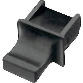 Cap with handle for RJ45 socket Black Würth Elektronik 726151101 1 pc(s)