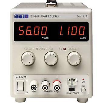 Aim TTi EL561R Bench PSU (adjustable voltage) 0 - 56 Vdc 0 - 1.1 A 60 W No. of outputs 1 x