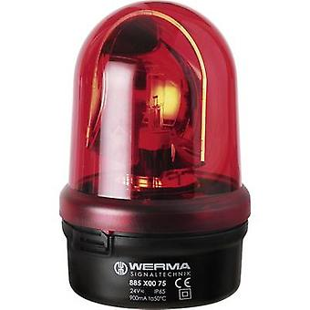 Emergency light Werma Signaltechnik 885.100.75 Red