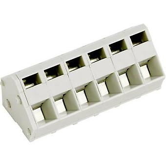 PTR AK3000/12-5.0 Spring-loaded terminal 2.50 mm² Number of pins 12 Pebble grey 1 pc(s)
