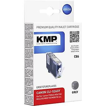 KMP Ink replaced Canon CLI-526 Compatible Grey