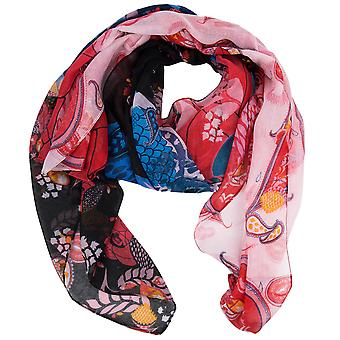 Desigual sjaal sjaal foulard Californië verse 18SAWW14/2000