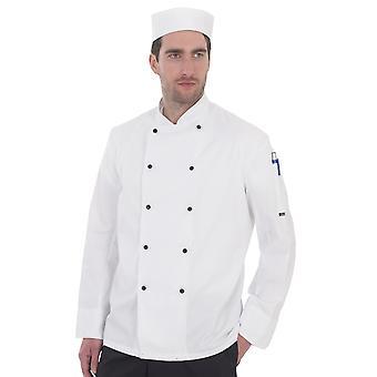 Dennys ligero de manga larga chaqueta de Chefs - DD20