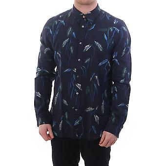 PS Paul Smith Tailored Fit Floral Print Shirt