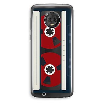 Motorola Moto G6 Plus boîtier Transparent (doux) - Voici votre bande