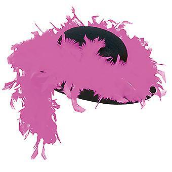 Vrouw hoed BOA roze hoed accessoires Halloween carnaval
