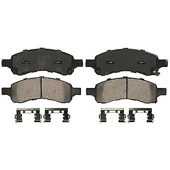 Wagner QuickStop ZD1169 Ceramic Disc Pad Set Includes Pad Installation Hardware, Front