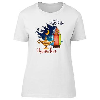 Ramadan Kareem Holiday Tee Women's -Image by Shutterstock