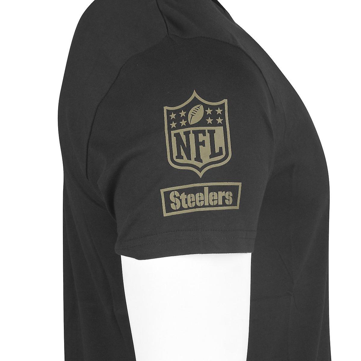 the best attitude 19ba1 260a8 New era Camo shirt - NFL Pittsburgh Steelers Black