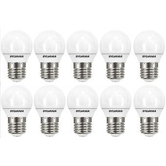 10 x Sylvania ToLEDo Ball E27 3.2W Homelight LED 250lm [Energy Class A+]