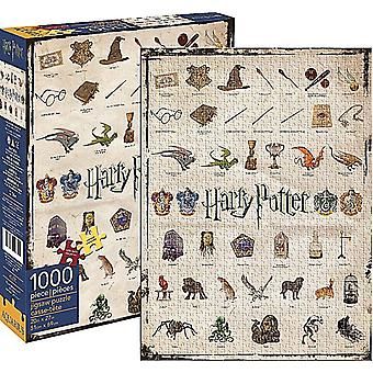 Harry Potter Icons 1000 Puzzle Puzzle-690 X 510 Mm