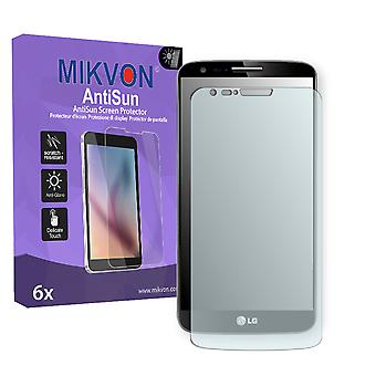 LG D800 G2 LTE Screen Protector - Mikvon AntiSun (Retail Package with accessories) (reduced foil)
