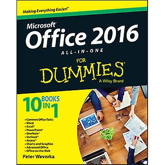Office 2016 All-in-One For Dummies by Peter Weverka - 9781119083122 B