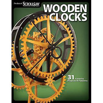 Houten klokken - 31 favoriete projecten en patronen door Figuurzagen Woodwo
