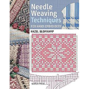 Técnicas de tejido de la aguja para bordado a mano por Hazel Blomkamp - 978