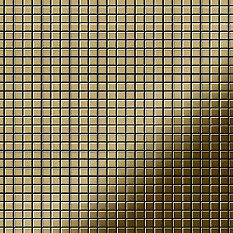 Металлическая мозаика из титана ALLOY Glomesh-Ti-GM