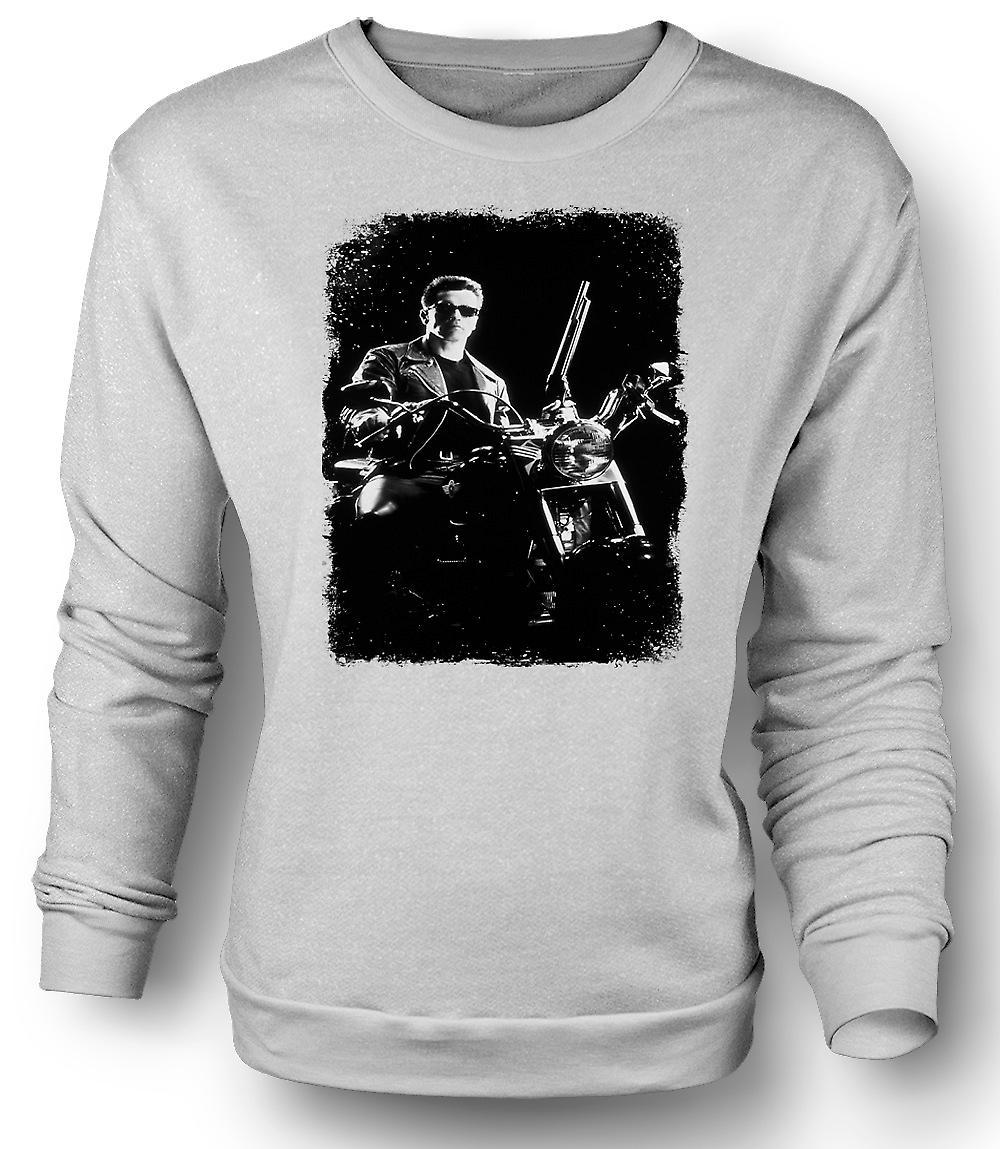 Mens Sweatshirt Terminator - Schwarzenegger - Movie