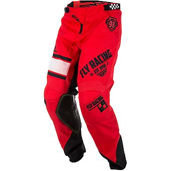 Fly Racing Red-Black 2018 Kinetic Era MX Pant
