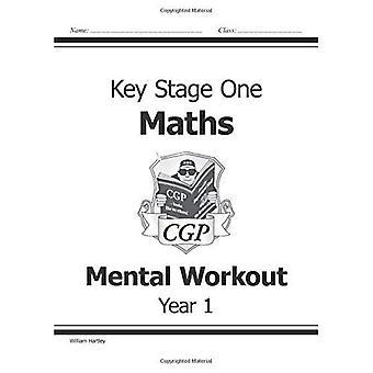 Ks1 Maths Workout mentale: niveaux 1-2 BK. 1