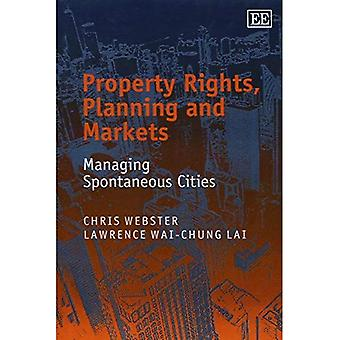 Property Rights, Planning and Markets: Managing Spontaneous Cities