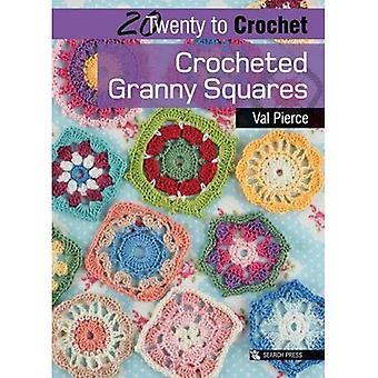 Crochet cuadrados Granny (veinte para hacer)