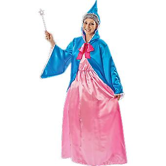 Womens Magical Fairy Godmother Princess Fairy Tale Books Film Fancy Dress Costume