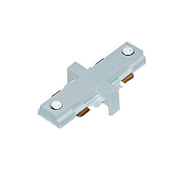 Spot e trilha conector bidirecional - holofote 1801SI de prata