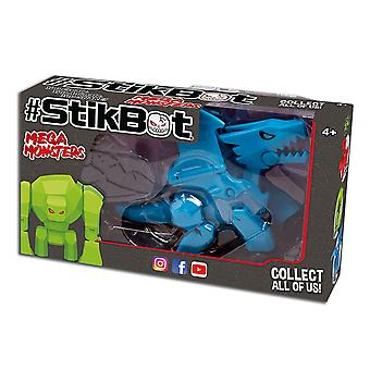 Zing S1522 StikBot Mega Monster, Scorch, bleu