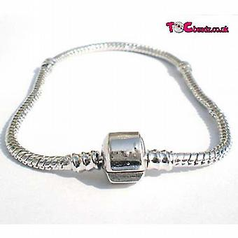TOC BEADZ 20cm Charm Bracelet For Slide-On Beads