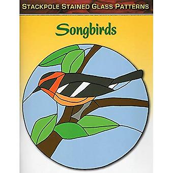 Songbirds: Stained Glass Patterns