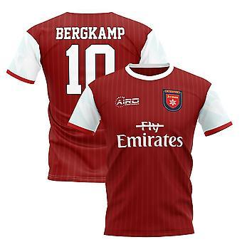2019-2020 Dennis Bergkamp Home Concept Football Shirt