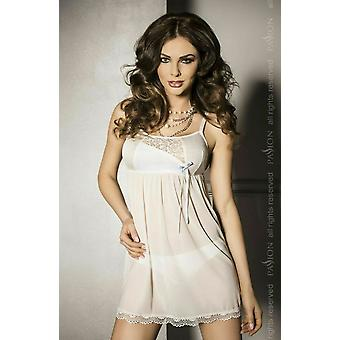Passion Lingerie Carmel White Lace Babydoll & Matching Thong