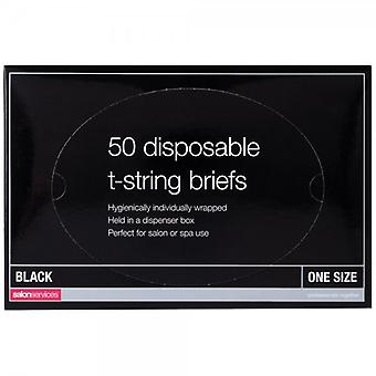 Salon Services Disposable T-String - Pack Of 50