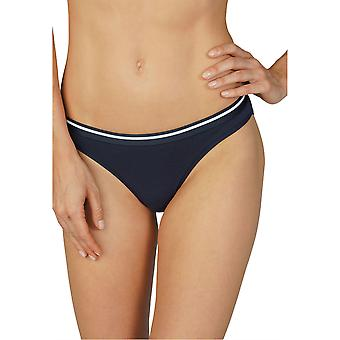 Mey Women 29541-408 Women's Cotton Pure Night Blue Knickers Panty Brief