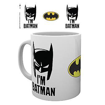 Batman serier jag är Batman kåpa Boxed dricka mugg