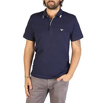 Emporio Armani Men Blue Polo -- 9P46254320