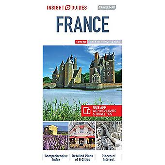 Insight Travel Map France by Insight Guides - 9781786719058 Book