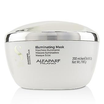 AlfaParf Semi Di Lino Diamond Illuminating Mask (Normal Hair) 200ml/6.98oz