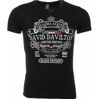 T-shirt-Black Edition Print-Black