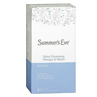 Summer's eve extra cleansing douche, vinegar & water, 4 ea