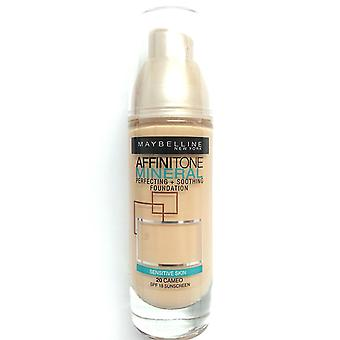 Maybelline Affinitone Mineral Foundation SPF18 30ml - 020 Cameo