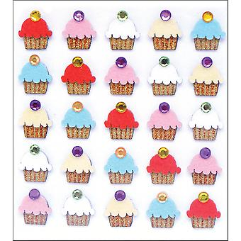 Jolee's Mini Repeats Stickers Cupcakes E20704
