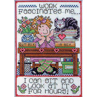 Work Counted Cross Stitch Kit 5
